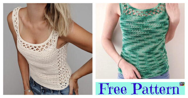 Crochet Lace Summer Top – Free Pattern