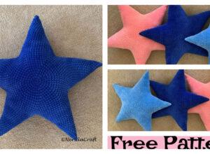 Crochet Star pillow – Free Pattern