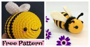 Crochet Amigurumi Bumblebee - Free Patterns