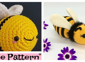 Crochet Amigurumi Bumblebee – Free Patterns