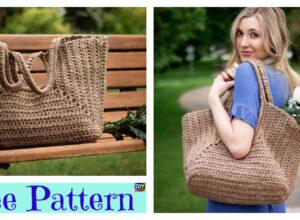 Crochet Cove Tote Bag – Free Pattern