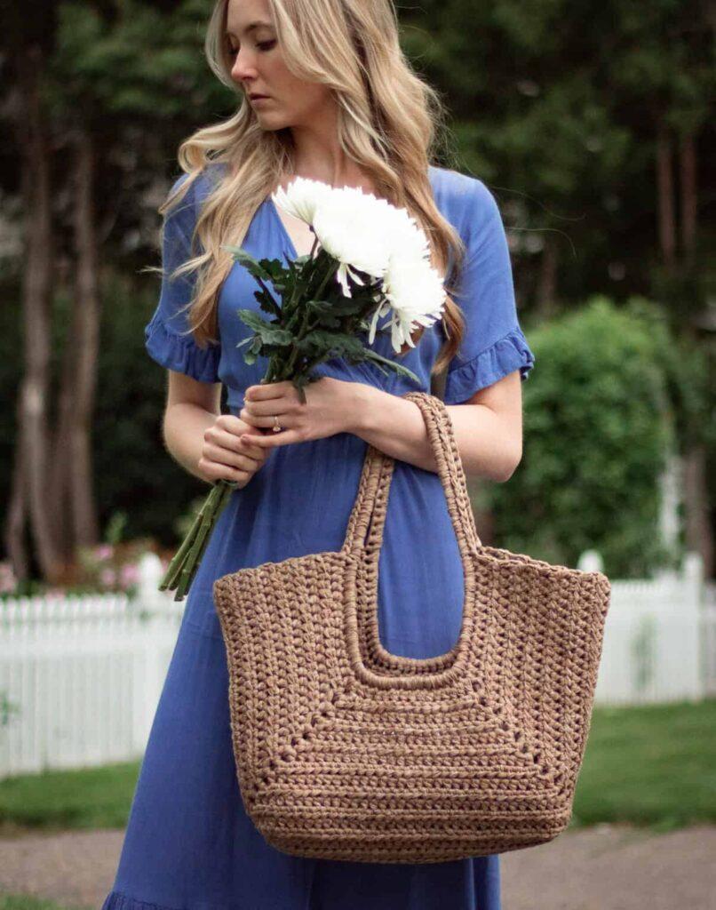 Crochet Cove Tote Bag - Free Pattern