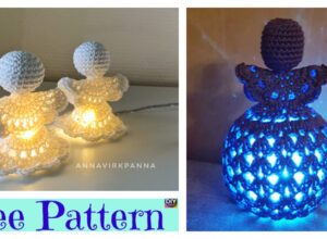 Crochet Cute Angel Light – Free Patterns