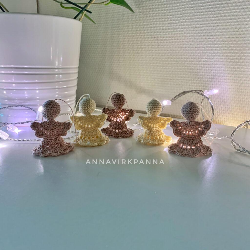 Crochet Cute Angel Light - Free Patterns