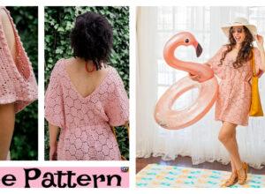 Crochet Hexagon Swim Cover Up – Free Pattern