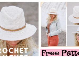 Cool Crochet Rancher Hat – Free Pattern