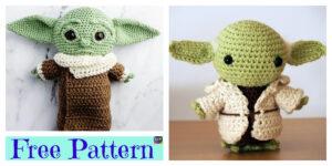 Crochet Star Wars Yoda Amigurumi - Free Patterns