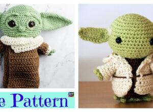 Crochet Star Wars Yoda Amigurumi – Free Patterns