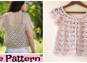 Crochet Summer Lace Cardigan – Free Patterns