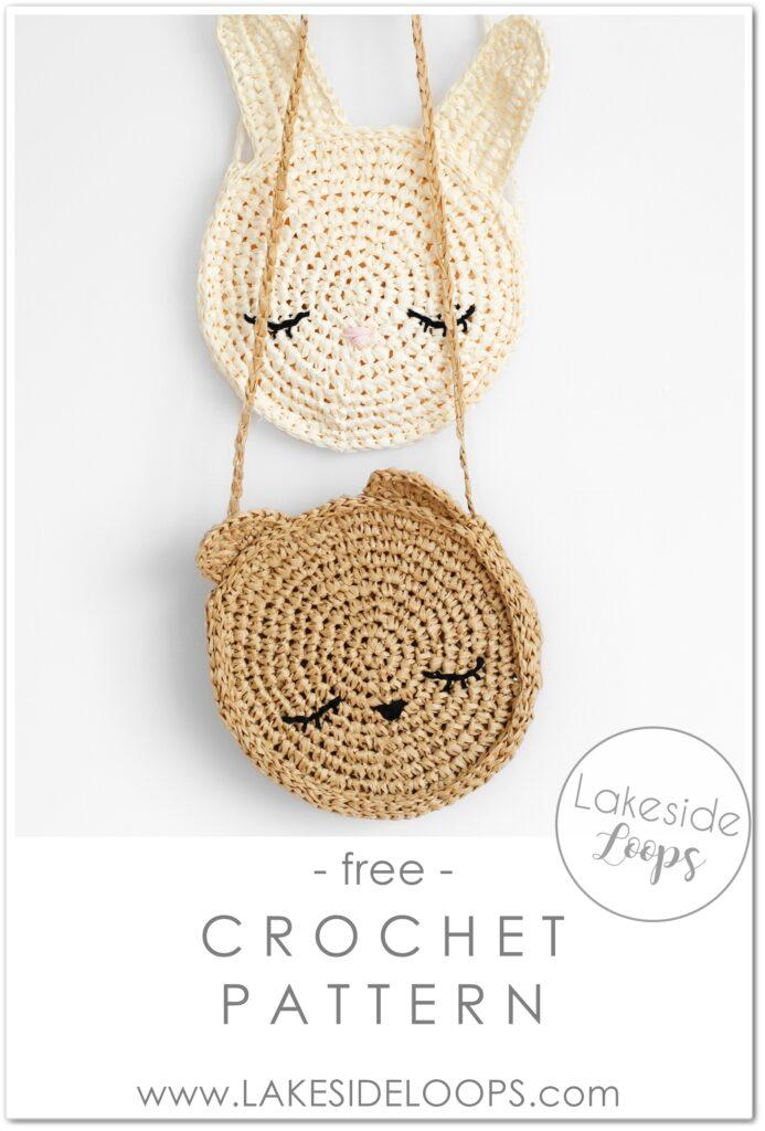 Cute Crochet Animal Purses – FREE Patterns