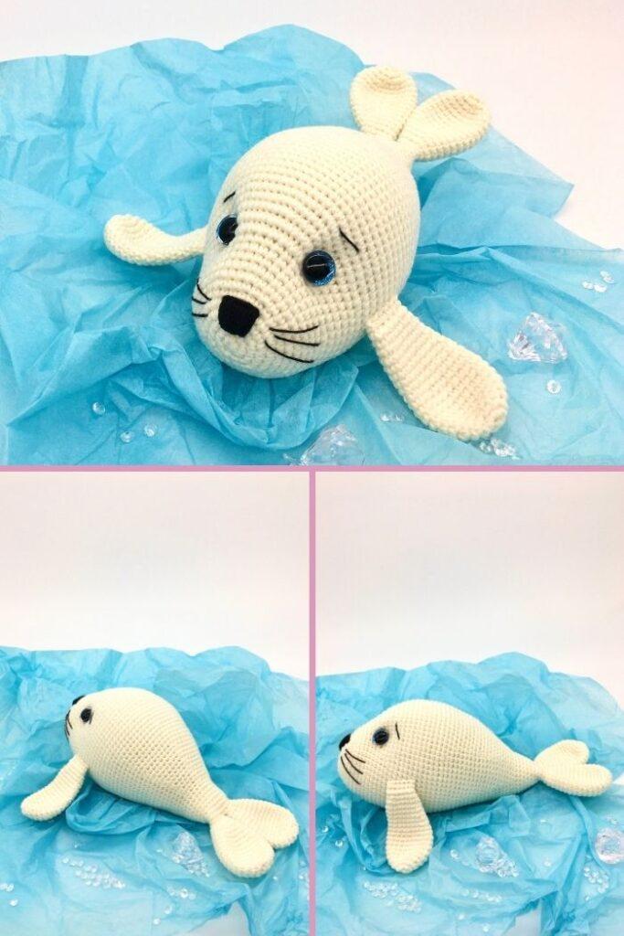 Cute Crochet Seal Amigurumi - Free Pattern