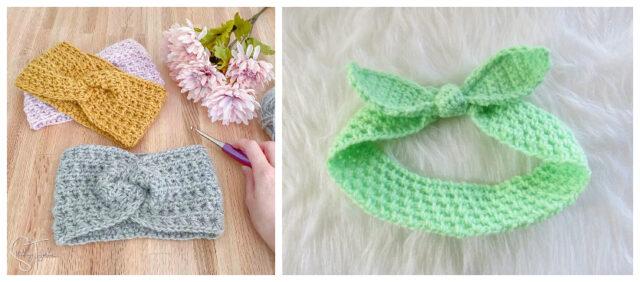 Pretty Crochet Headband – Free Pattern