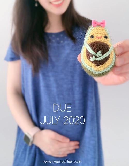 Cute Crochet Avocado Softie - Free Patterns