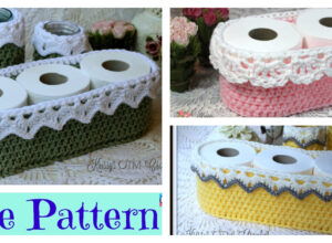 Precious Crochet Lace Basket – Free Pattern