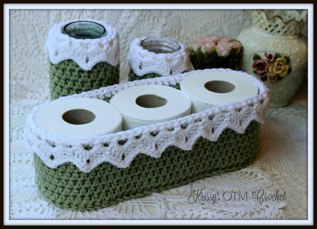 Precious Crochet Lace Basket - Free Pattern