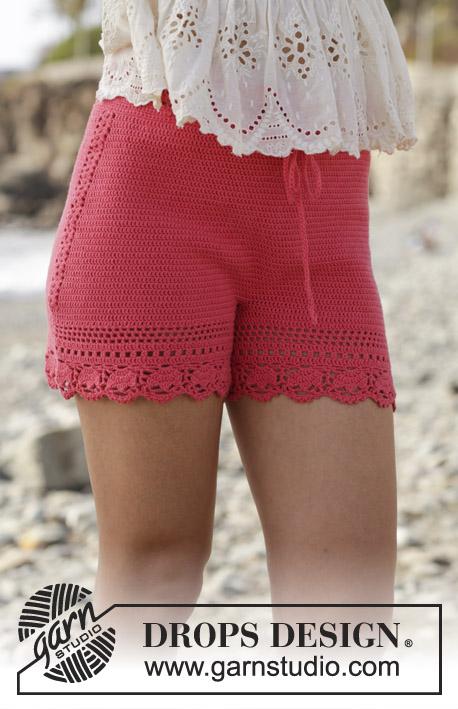 Pretty Crochet Lace Shorts - Free Patterns